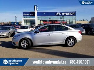 Used 2013 Chevrolet Cruze 2LT/BACK UP CAM/HEATED SEATS/SUNROOF for sale in Edmonton, AB