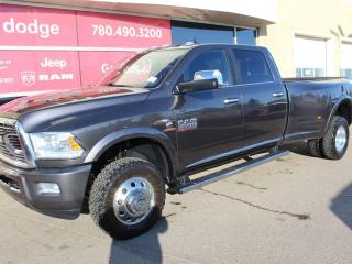 Used 2017 RAM 3500 Longhorn 4x4 Crew Cab / GPS Navigation / Back up Camera for sale in Edmonton, AB