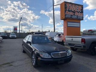 Used 2002 Mercedes-Benz S-Class S500**FULLY LOADED**RUNS WELL**ONLY 169KMS**AS IS for sale in London, ON