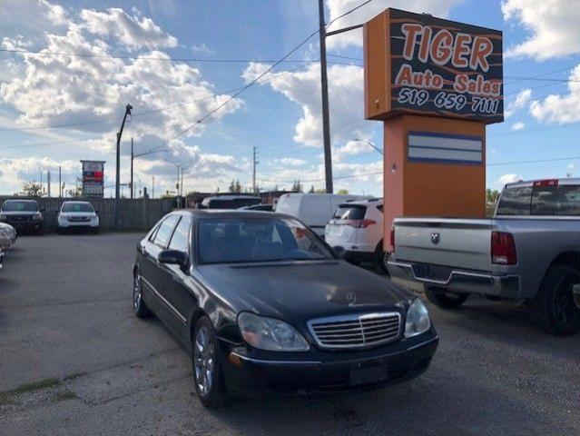 2002 Mercedes-Benz S-Class S500**FULLY LOADED**RUNS WELL**ONLY 169KMS**AS IS