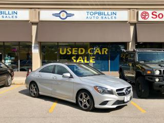 Used 2015 Mercedes-Benz CLA-Class CLA 250 4Matic, Pano Roof, Navi, Blind Spot for sale in Vaughan, ON