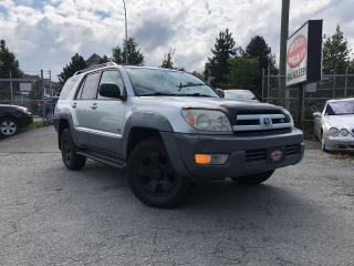Used 2004 Toyota 4Runner SR5 for sale in Surrey, BC