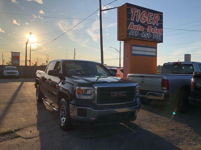 2014 GMC Sierra 1500 **ONLY 128KMS**CREW CAB**5.3L V8 4X4**CERTIFIED