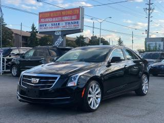 Used 2015 Cadillac ATS Luxury AWD for sale in Toronto, ON