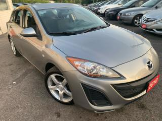 Used 2010 Mazda MAZDA3 AUTO/ POWER GROUP/ ALLOYS/ SPOILER/ LIKE NEW! for sale in Scarborough, ON
