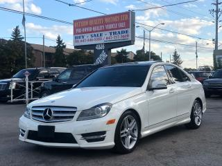 Used 2012 Mercedes-Benz C-Class C 300 Luxury,Panoramic Sunroof !!! for sale in Toronto, ON