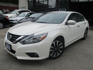 Used 2016 Nissan Altima 2.5 SL Tech-NAVI-LTHER-CAMERA-ROOF-HEALED-BTOOT for sale in Scarborough, ON