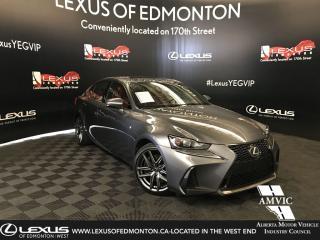 Used 2017 Lexus IS 300 F-Sport 2 for sale in Edmonton, AB