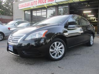 Used 2014 Nissan Sentra SV-NAVIGATION-CAMERA-ROOF-BLTOOT-HTED SEAT for sale in Scarborough, ON
