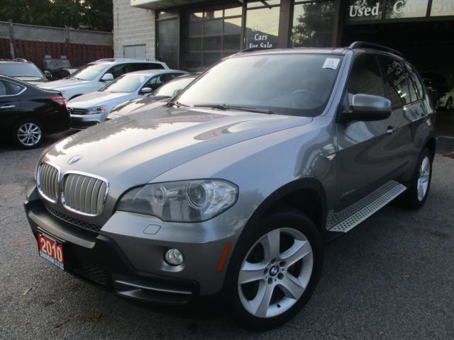 2010 BMW X5 35d--DIESEL-NAVI-LTHER-PANO-ROOF-BTOOTH-7 PASSENGE