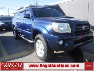 Used 2006 Toyota Tacoma double cab for sale in Calgary, AB