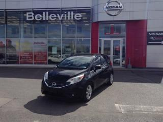 Used 2014 Nissan Versa Note SL HEATED SEATS, BLUETOOTH, SATALITE RADIO for sale in Belleville, ON