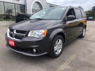 Used 2019 Dodge Grand Caravan Crew Plus for sale in Hamilton, ON