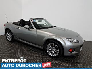 Used 2013 Mazda Miata MX-5 GX DÉCAPOTABLE - AIR CLIMATISÉ - Groupe Électrique for sale in Laval, QC