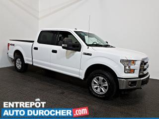 Used 2016 Ford F-150 XLT 4X4 Automatique - A/C - Groupe Électrique for sale in Laval, QC