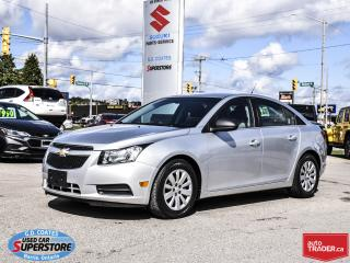 Used 2011 Chevrolet Cruze LS ~VERY CLEAN! ONLY 44,000 KM! for sale in Barrie, ON
