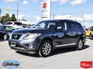 Used 2014 Nissan Pathfinder SL AWD ~7 Passenger ~Heated Leather ~Backup Camera for sale in Barrie, ON
