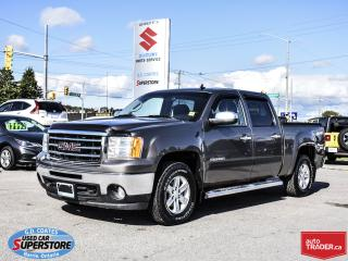 Used 2013 GMC Sierra 1500 SLE Crew Cab 4x4 ~5.3L V8 ~Power Seat ~Trailer Tow for sale in Barrie, ON