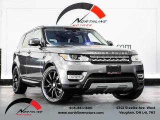 Used 2016 Land Rover Range Rover Sport Td6 HSE|Navigation|Heads Up Disp|Soft Close Doors|Pano for sale in Vaughan, ON