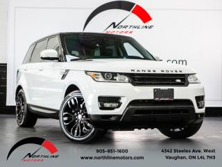 Used 2014 Land Rover Range Rover Sport HSE|7 Passenger|Navigation|Pano Roof|Soft Close Doors for sale in Vaughan, ON