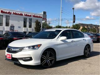 Used 2017 Honda Accord Sedan Sport - Sunroof - Lip Spoiler - Rear Camera for sale in Mississauga, ON