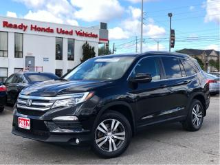 Used 2017 Honda Pilot EX-L Navi - Leather - Navigation - Sunroof for sale in Mississauga, ON