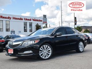 Used 2015 Acura RLX Elite  AWS -  Leather - Navigation - Sunroof for sale in Mississauga, ON