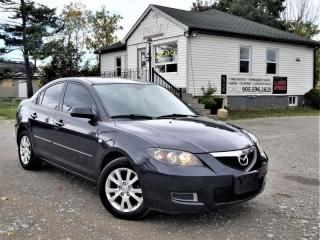 Used 2007 Mazda MAZDA3 2.0L GS AUTOMATIC SUNROOF CRUISE SAT POWER GROUP A/C for sale in Sutton, ON