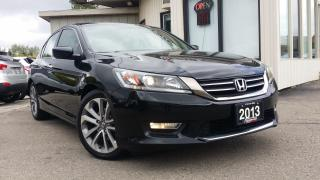 Used 2013 Honda Accord Sport Sedan CVT - BACK-UP CAMERA! NEW TIRES! NEW BRAKES! for sale in Kitchener, ON
