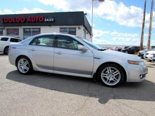 Used 2008 Acura TL TECH PKG NAVIGATION CAMERA CERTIFIED 2 YR WARRANTY for sale in Milton, ON