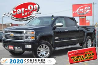 Used 2015 Chevrolet Silverado 1500 HIGH COUNTRY 6.2L HTD/COOLED LEATHER NAV REAR CAM for sale in Ottawa, ON