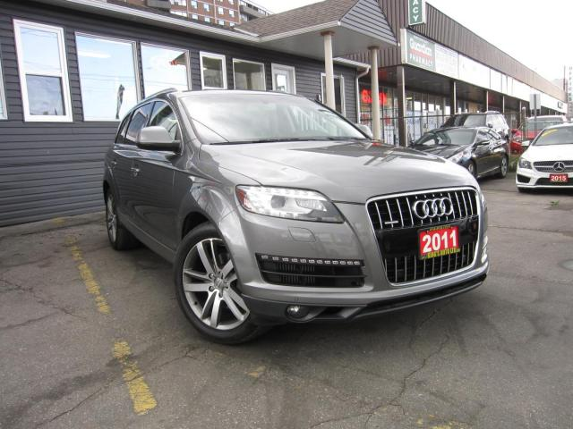 2011 Audi Q7 TDI quattro Premium NAVIGATION, BACKUP CAMERA, LEATHER SEATS, HEATED FRONT AND REAR SEATS, 7 SEATER