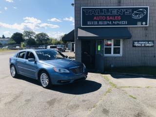 Used 2011 Chrysler 200 Touring for sale in Kingston, ON