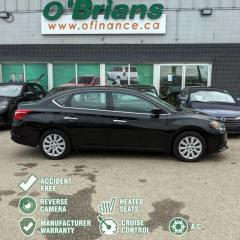 Used 2017 Nissan Sentra SV - Accident Free! w/Mfg Warranty, Cruise, A/C, Backup Camera for sale in Saskatoon, SK