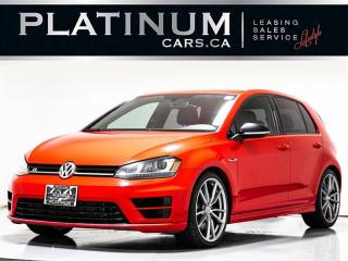 Used 2016 Volkswagen Golf R 4MOTION AWD, DSG, NAVI, Heated SEATS, Clean Carfax for sale in Toronto, ON