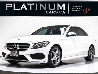 Used 2016 Mercedes-Benz C-Class C300 4MATIC, AMG, NAVI, PANO, CAMERA, HEAT SEATS for sale in Toronto, ON