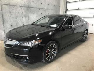 Used 2015 Acura TLX V6 Elite SH-AWD TOIT GPS CAMERA ANGLE MORT CRUISE ADAPTATIF for sale in St-Nicolas, QC