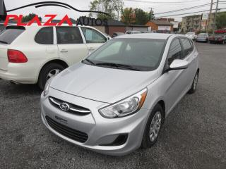 Used 2017 Hyundai Accent 2017 Hyundai Accent - 5dr HB Man GL for sale in Beauport, QC