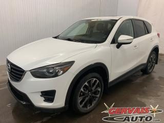 Used 2016 Mazda CX-5 GT AWD GPS Cuir Toit Ouvrant MAGS Bluetooth *Bas Kilométrage* for sale in Trois-Rivières, QC