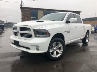 Used 2015 RAM 1500 Sport | Crew | Leather | Nav | Sunroof | Hemi 4WD for sale in St Catharines, ON