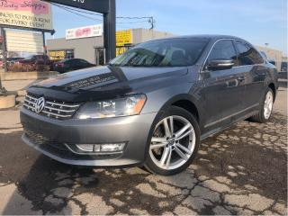 Used 2014 Volkswagen Passat TDI Comfortline| Sport Pkg| Sunroof | Auto| Htd Le for sale in St Catharines, ON