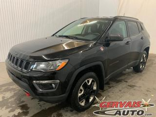 Used 2017 Jeep Compass Trailhawk 4x4 GPS Cuir/Tissus MAGS Caméra for sale in Trois-Rivières, QC