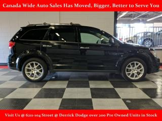 Used 2016 Dodge Journey AWD, R/T, Leather, 3rd Row Seating for sale in Edmonton, AB