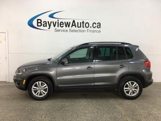 Used 2014 Volkswagen Tiguan Trendline - 4MOTION! HTD SEATS! BLUETOOTH! FULL PWR GROUP! for sale in Belleville, ON