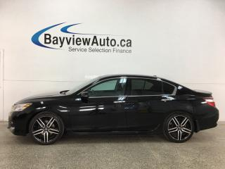 Used 2017 Honda Accord Touring V6 - V6! HTD LEATHER! NAV! SUNROOF! ADAPTIVE CRUISE! + MUCH MORE! for sale in Belleville, ON