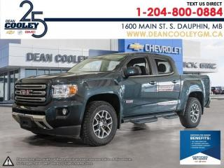 Used 2017 GMC Canyon 4WD SLE for sale in Dauphin, MB