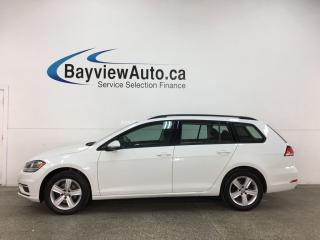 Used 2019 Volkswagen Golf Sportwagen 1.8 TSI Comfortline - 4MOTION! HTD SEATS! REVERSE CAM! FULL PWR GROUP! ALLOYS! for sale in Belleville, ON