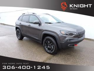 New 2020 Jeep Cherokee Trailhawk Elite4x4 | Leather |  Navigation | Remote Start | Heated Seats & Steering | Trailer Tow for sale in Weyburn, SK