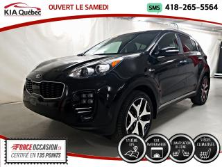 Used 2017 Kia Sportage SX* TURBO* AWD* TOIT PANO* GPS* CUIR* CAMERA* for sale in Québec, QC