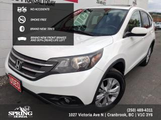Used 2012 Honda CR-V EX NO ACCIDENTS, ONE OWNER, NEW TIRES, SMOKE-FREE, NEW FRONT BRAKES - $138 BI-WEEKLY - $0 DOWN for sale in Cranbrook, BC